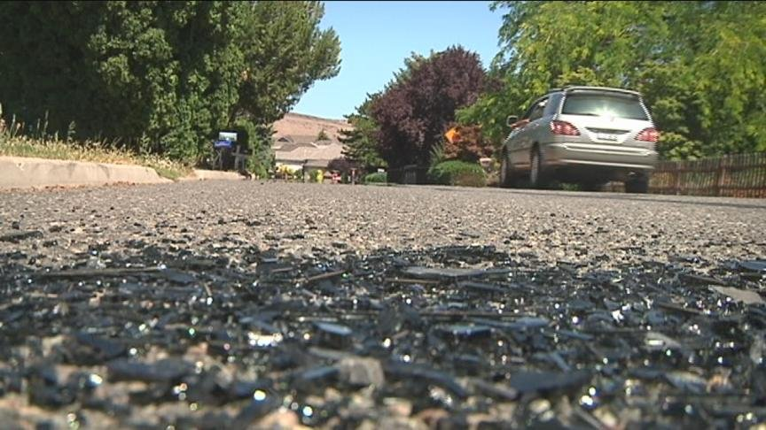 A 17-year-old boy is recovering in the hospital after he was shot in the leg by someone who saw him breaking into a car in Terrace Heights on Monday. However, it's not just the car prowler who's in trouble with the law, the shooter could face charges as w
