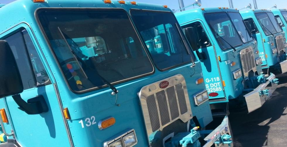 Basin Disposal in Pasco has started converting it's fleet of trucks from diesel to natural gas powered engines.