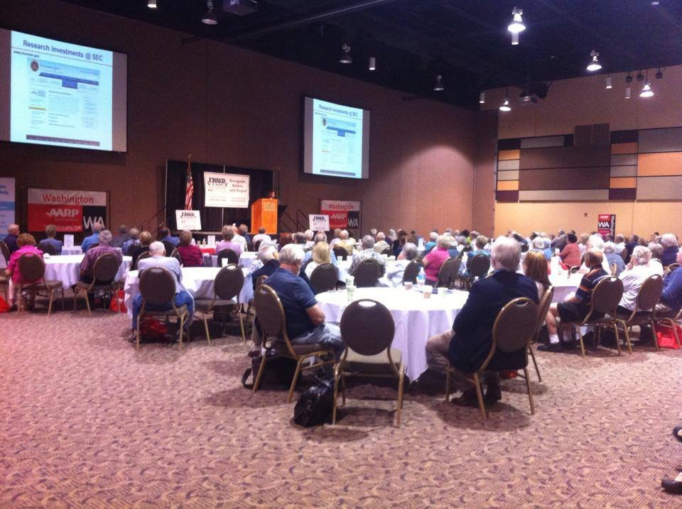 Scam Jam 2014 took over the Three Rivers Convention Center Wednesday morning.