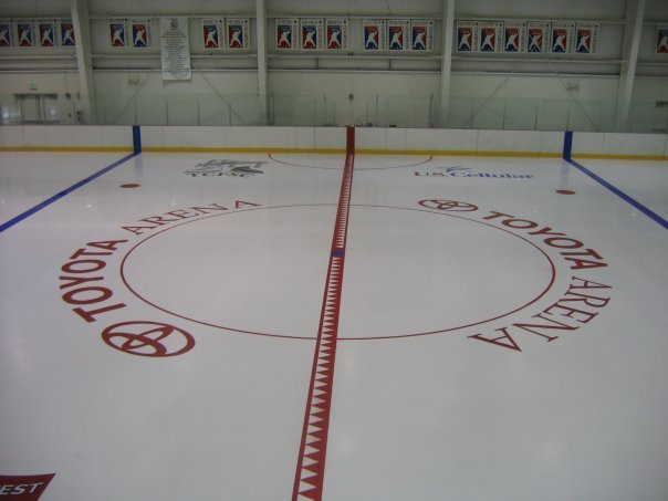 When the Tri-City Americans aren't in action, the ice at the Toyota Center takes a backseat to the arena next door.
