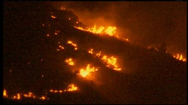 A wildfire burning in Chelan County grown to about 18,000 acres.