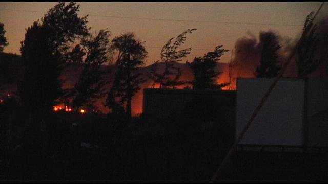 Firefighters are still not sure what caused a large fire last night in Yakima County.
