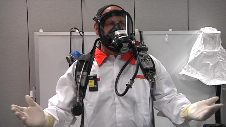 After dozens of Hanford workers reported exposure to chemical vapors in just the last few months NBC Right Now was invited this week to get a an up close look at some of the tank farm safety equipment.