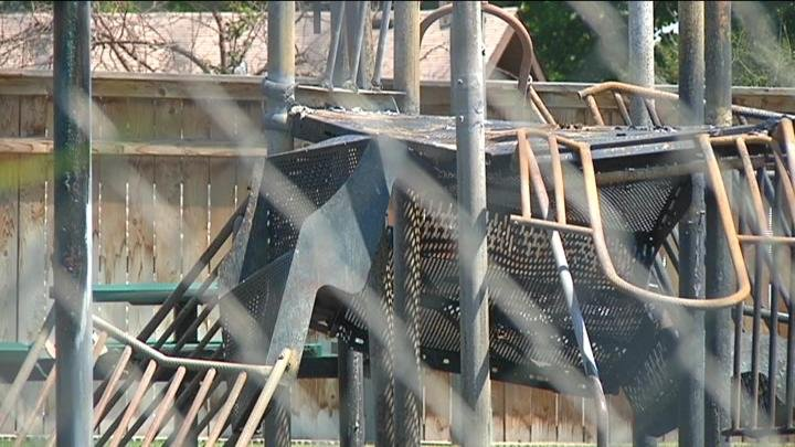 Police are still investigating a suspicious fire Sunday afternoon at Santiago Sunset Estates in Kennewick.