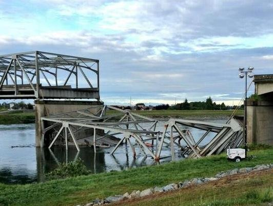 The National Transportation Safety Board says insufficient route planning, a distracted pilot driver, and an inadequate permitting process all played a part in the Interstate 5 bridge collapse.