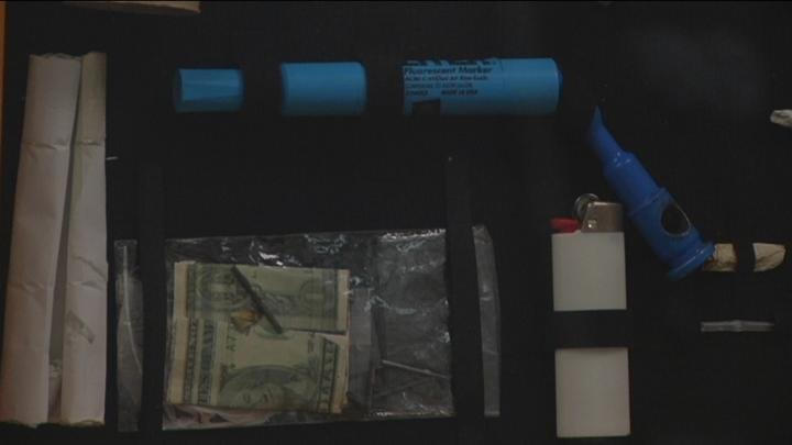 A woman in the Benton County Jail overdosed on heroin this week.