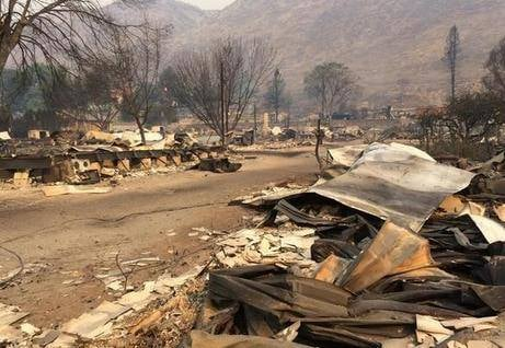 - A massive wildfire that destroyed about 100 homes is forcing the residents of a second north-central Washington town to leave their homes, and a partial evacuation of a third community in the scenic Methow Valley is also underway.