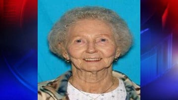 The Everett Police Department says Ethel O'Neil, 89, was last seen at 5209 Beverly Lane in Everett.