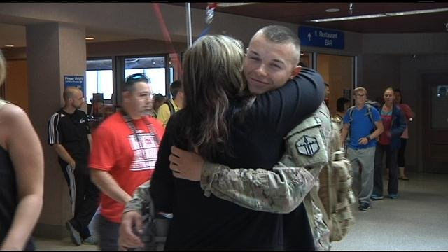 Four soldiers from the Tri-City area are now home from tours overseas.