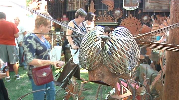 "The Allied Arts ""Art In The Park"" show is in Richland this weekend."