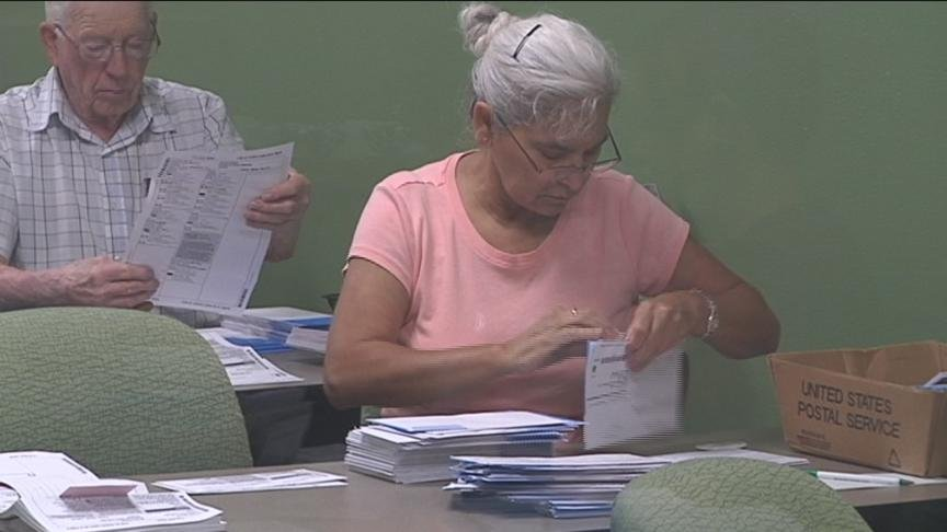 Ballots are due a week from Tuesday for this year's primary election.