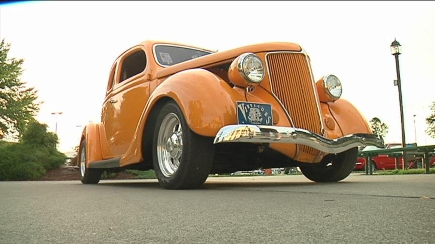 Organizers said there are more than 700 cars all made before 1972 on display at the fairgrounds.