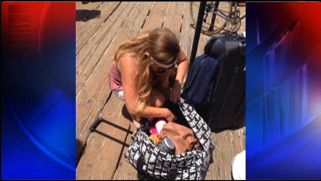 Local Hairdresser Loses Luggage at LAX Finds it at Santa Monica Pier