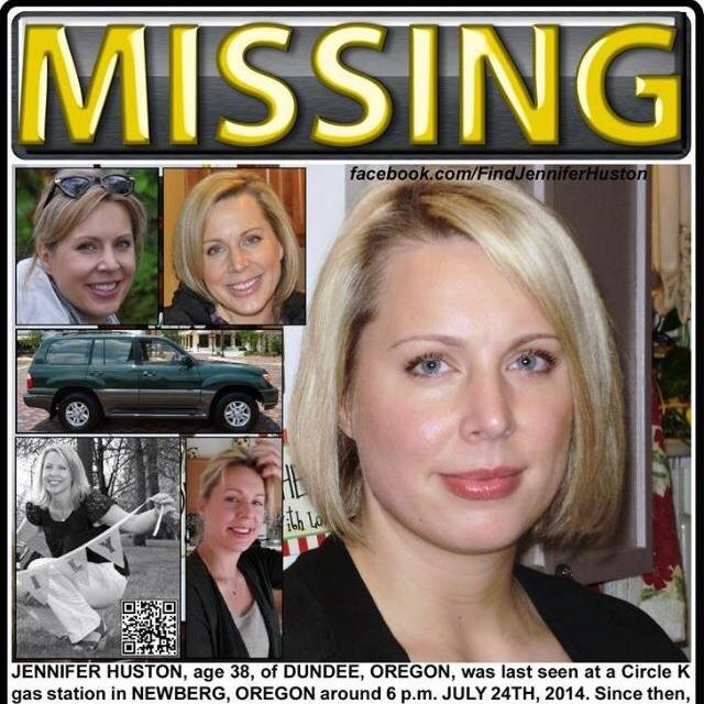 (AP) A Dundee, Oregon, woman who has been missing more than a week may be in Washington's San Juan Islands.