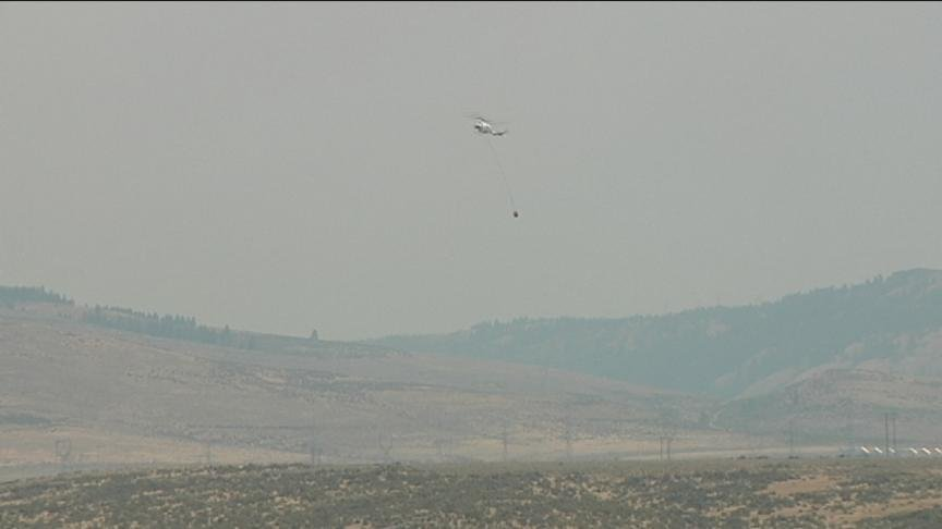 The Federal Emergency Management Agency will provide federal funds to help fight the Snag Canyon Fire burning near Ellensburg.