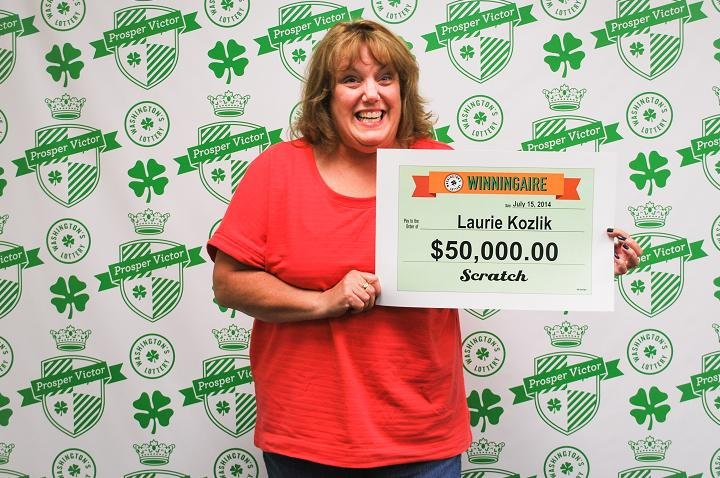 A Richland woman is now $50,000 richer after playing Washington's Lottery Gem 7's Scratch.