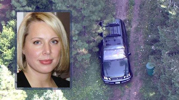 The Oregon state medical examiner's office says an Oregon woman missing for nearly two weeks before her body was found along a rural road committed suicide by asphyxiation.