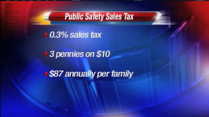 The criminal justice sales tax is most likely to pass in Benton County.