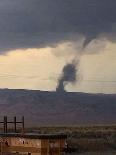 National Weather Service Confirms Small Tornado Near Tri