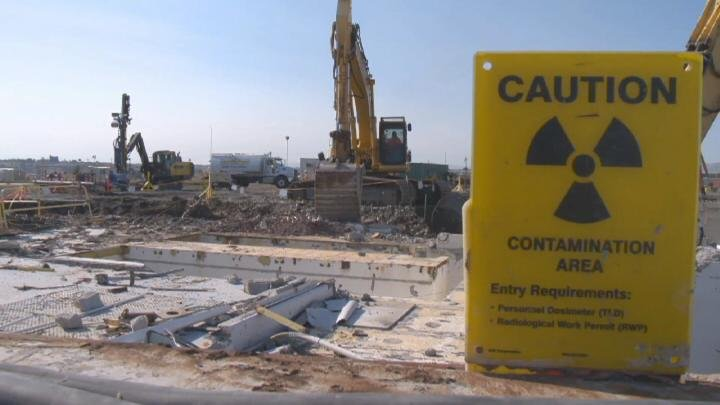 Another step forward in the cleanup at Hanford. One of the last remaining reactor sites and the largest in Hanford's 300 Area is being demolished.