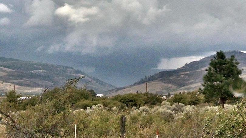 The Snag Canyon Fire is now 76% contained after burning 12,667 acres.