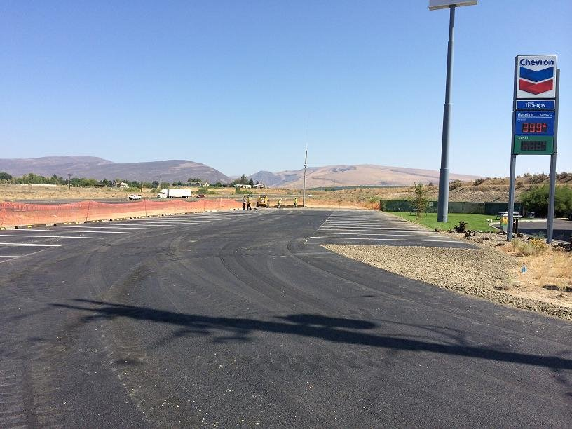 More parking spaces are now available at the Selah Firing Center Road Park and Ride off I-82.