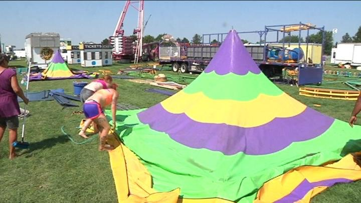 The Benton Franklin Fair and Rodeo is back and it takes a lot of preparation to get it ready for opening day Tuesday.