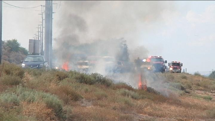 It's a fire mystery. A suspicious number of small fires are popping up in Kennewick.