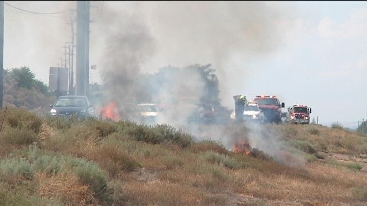 NBC Right Now is working to learn more about the alarmingly high number of fires sparking in the median of Highway 240 in Kennewick.