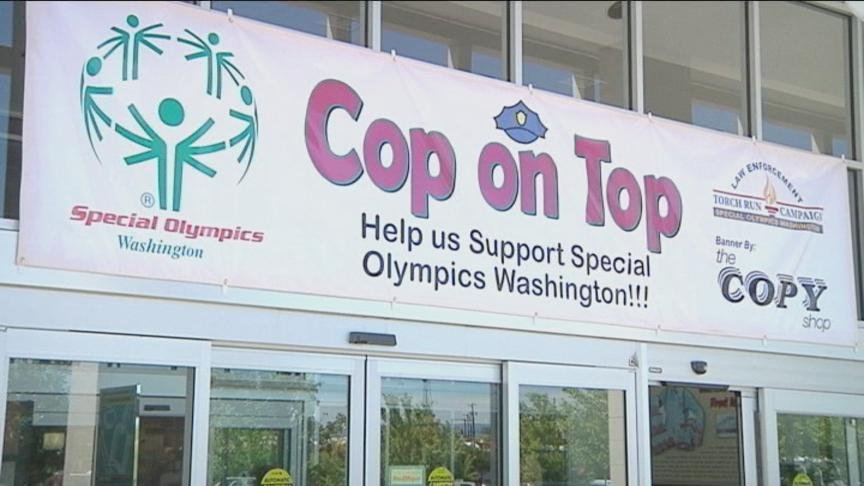 It is that time of year again when the Ellensburg Police Department gets to help raise funds for the Special Olympics of Washington through their annual Cop on Top fundraiser.