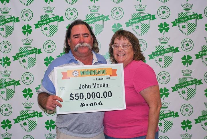 A Kennewick man is keeping the lucky streak in alive in the Tri-Cities with his recent $50,000 Washington's Lottery win.