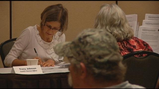 Nuclear energy workers got the chance to meet one on one with several different government agencies Tuesday.