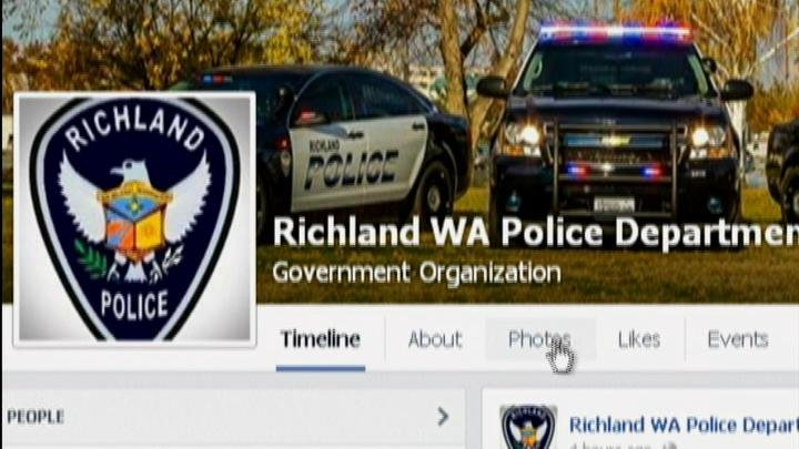 Social media plays a big part in spreading news quickly and with a possible missing child Thursday in Richland, police made use of the tool to get the word out.