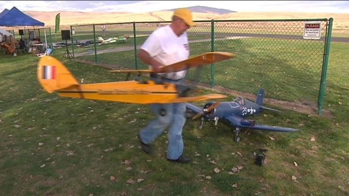 Pilots came out to fly their planes at Warbirds Over Washington.