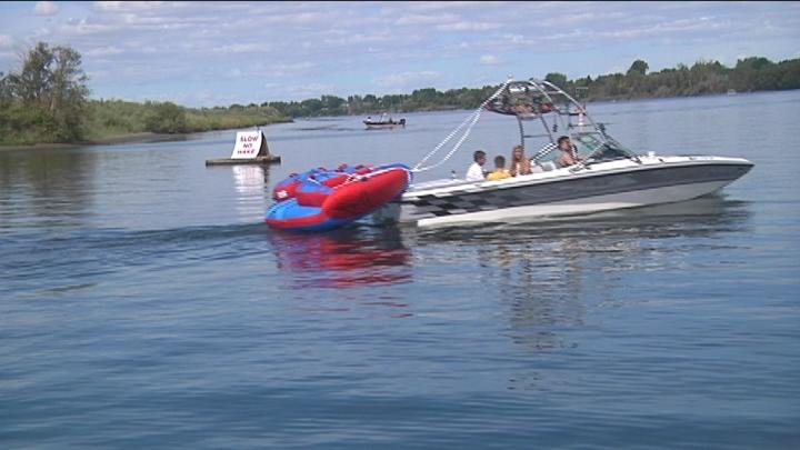 Boaters are reminded to stay safe for the Labor Day weekend.