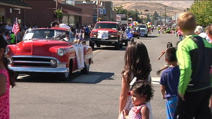Americans across the country celebrated Labor Day Monday. To put a nice end to the long holiday weekend the City of Prosser celebrated with a parade.
