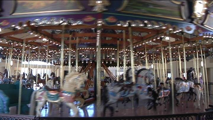 They've been working on bringing it here for over a decade and now the Gesa Carousel of Dreams is set to open this week.