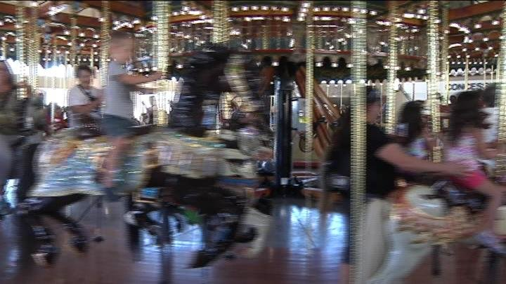 Some people had been waiting for Friday for over a decade. The Carousel of Dreams is finally open.