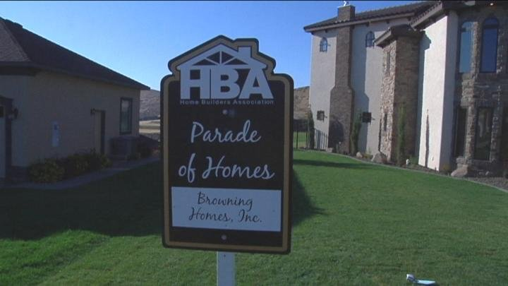 The Parade of Homes features 25 homes for guests to view.