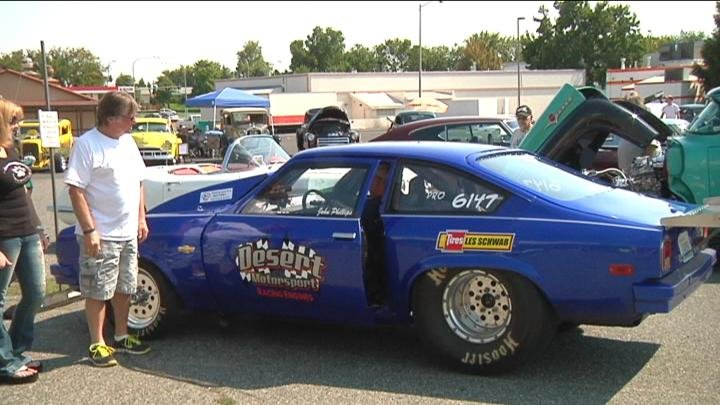 Paw's for a Cause featured a car show to raise donations to help local shelters.
