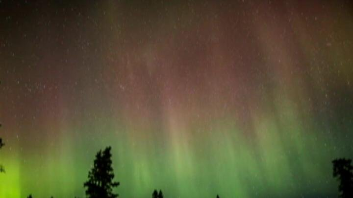 It's a lot more common way up north but there's a chance that WE could see the northern lights, this weekend.
