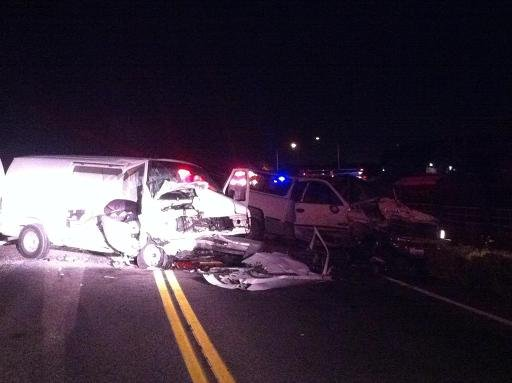 Five People Injured in Two Car Accident on SR 397 near