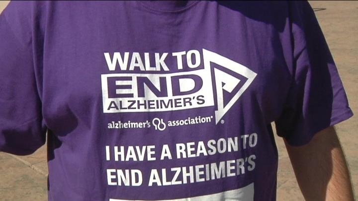 The Alzheimer's Walk helped raise money for awareness and to find a cure.