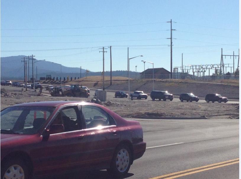 6 mile stretch of I-90 closed near WA-ID border