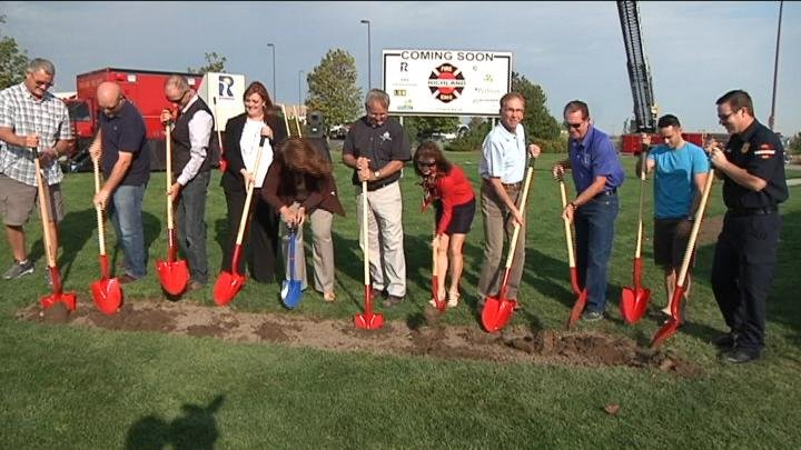 As cities grow, so does the need for more fire stations. Monday they broke ground in the Queensgate area of Richland for a new station that will help cut response times in the city.