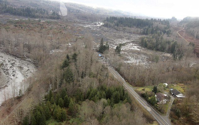People are still seeing the devastation from the Oso landslide back in March, but they are also seeing efforts to clean up and get back to normal.