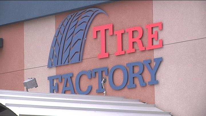 Tire Factory helped out one of their customers when her car stopped at the airport.