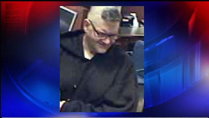 Photo of Chase Bank Robbery Suspect