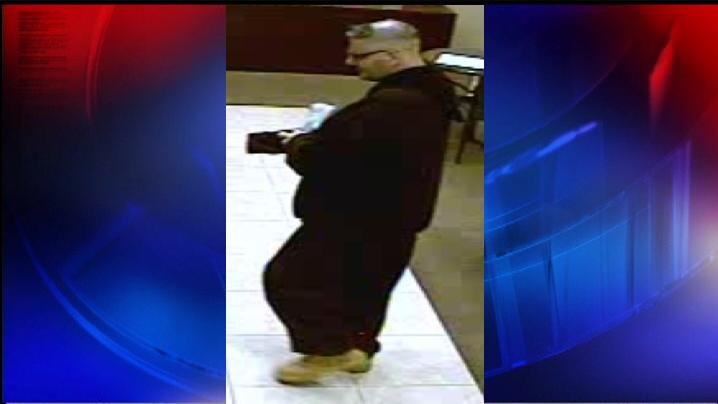 Second Image of Chase Bank Robbery Suspect
