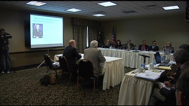 Representatives from Energy Northwest, Tridec, the Department of Energy and others filled the meeting hall at the Pasco Holiday Inn Express Thursday for the first meeting of the Nuclear Task Force in the Tri-Cities.